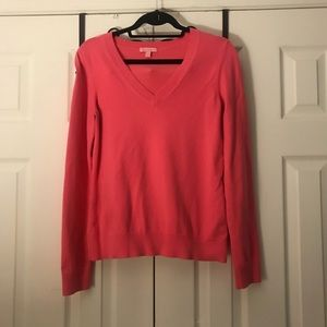 💕Lilly Pulitzer Pink Sweater,Size-S(?M)💕